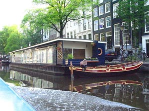 Amsterdam houseboat