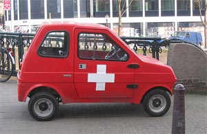 Amsterdam ambulance