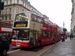 tour bus london