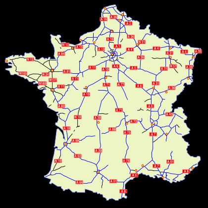autoroutemap
