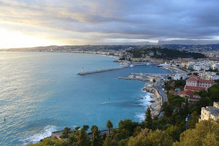 getting from paris to nice