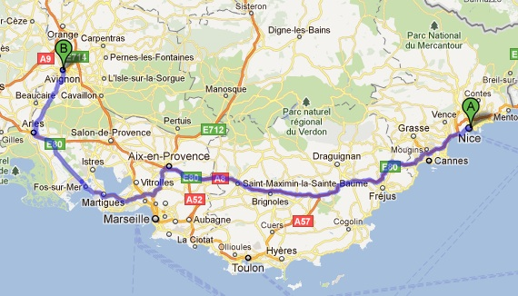 Avignon nice train