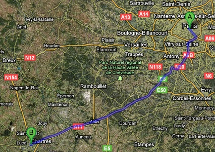 How to Get From Paris to Chartres