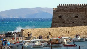 Crete Greece Venetian Fortress