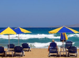 Crete Greece Beach Heraklion