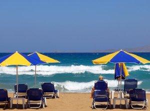 Crete Greece Beach Heraklion