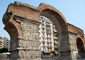 Old Arch Thessaloniki