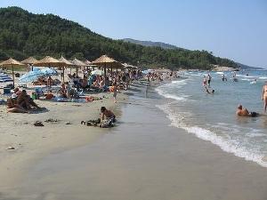 Thasos beach