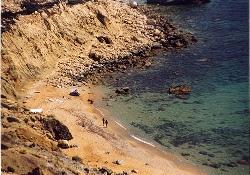 crete red beach