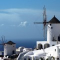 Getting from Athens to Santorini: a flight or a ferry ride away?
