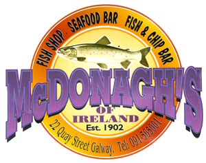 McDonaghs fish and chips in Galway