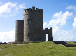 O'Brien's Castle at The Cliffs of Moher