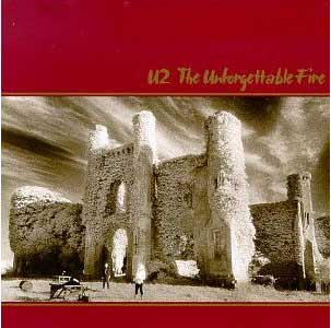 U2's album cover, The Unforgettable Fire