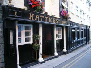 the outside of hatter's restaurant in Athlone