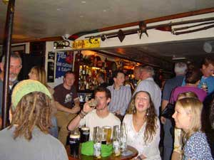 people in sean's bar, athlone - oldest pub in ireland