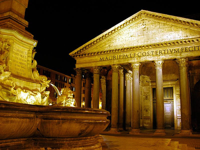 pantheon_night