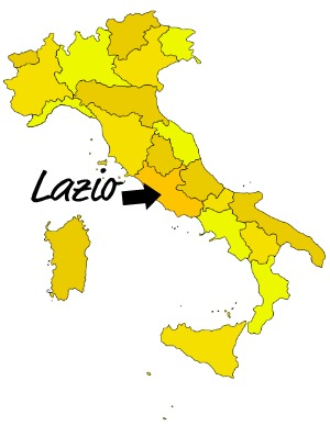 List of Synonyms and Antonyms of the Word lazio region