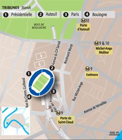 Rugby world cup ou est le stade whygo paris - Parking porte de saint cloud ...
