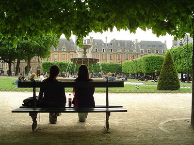 Many of the neighborhoods in paris have a distinct feel often one they