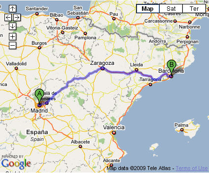 map-madrid-to-barcelona