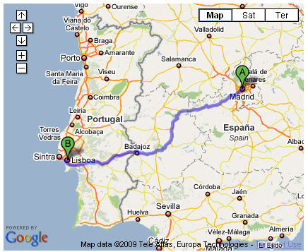 madrid-to-lisbon-map