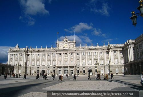 Palacio Real Madrid Royal palace