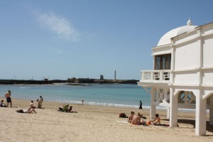 beach in Cadiz