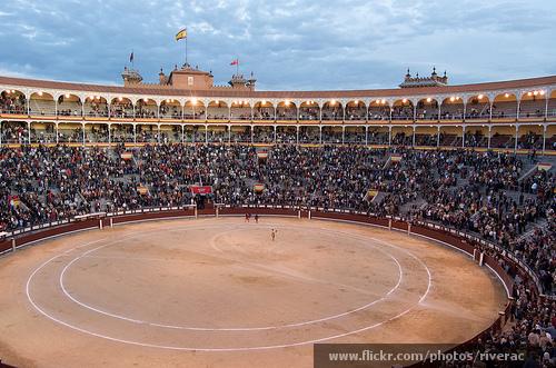 Plaza de Toros Inside Arena